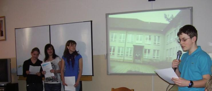 Prezentace první části projektu Comenius pro žáky prvního stupně