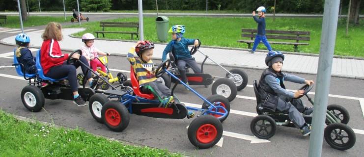 Výlet na dětské dopravní hřiště