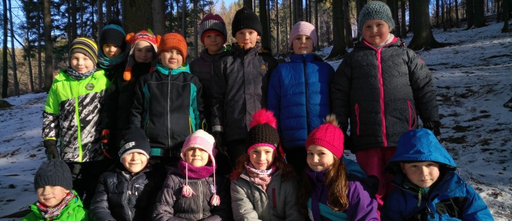 Vycházka do lesa 2. třída