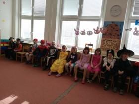 Karneval ve třídě Koťat 2021